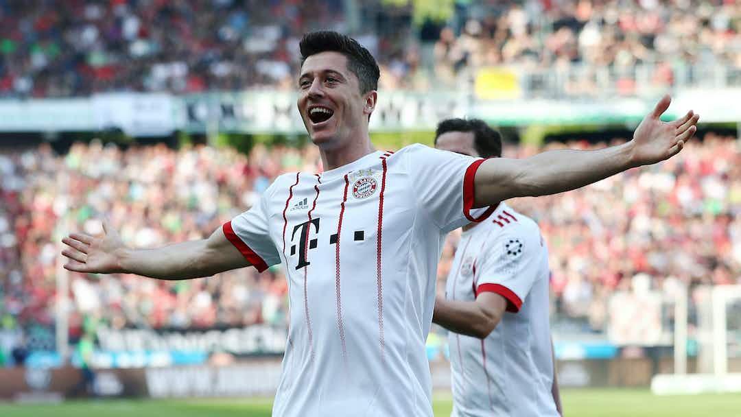 Fitmax Hannover hannover 0 bayern munich 3 lewandowski breaks bundesliga record