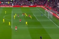 (Video) Anthony Elanga scores fantastic volley v Brentford