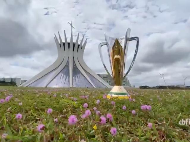 Apesar do veto da Justiça, taça da Supercopa chega em Brasília