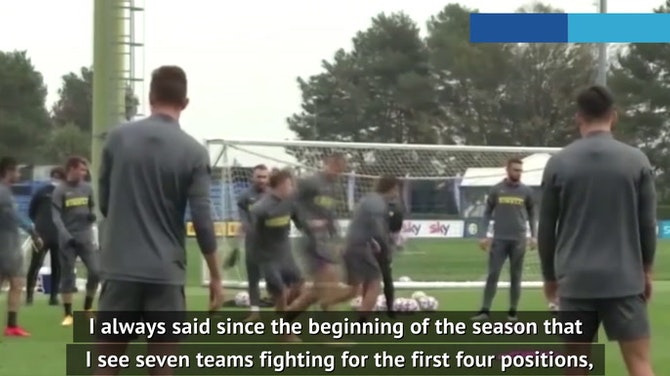 It's a seven team battle for Serie A - Conte