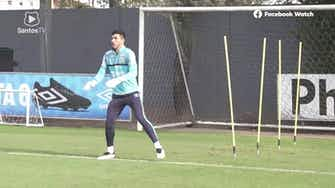 Preview image for Santos training session at CT Rei Pelé