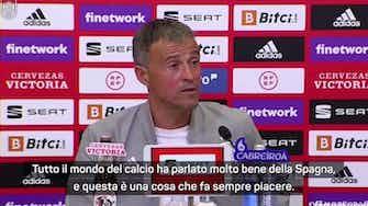 """Anteprima immagine per Europei, Luis Enrique: """"Italia campione, ma come ha giocato la Spagna?"""""""