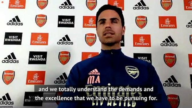 Arteta hits out at critics who believe Arsenal didn't deserve Super League invite