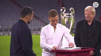Imagen de vista previa para Kimmich renueva con el Bayern