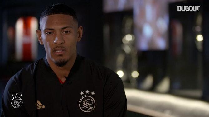 Preview image for Sébastien Haller's first Ajax interview
