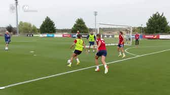 Preview image for Aitana Bonmatí impresses in Spain women's training