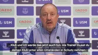 """Vorschaubild für Benitez sieht """"kein Problem"""" in LFC-Vergangenheit"""