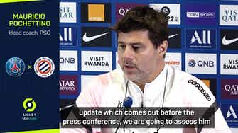 Preview image for Pochettino hopeful Messi will return for PSG-Man City