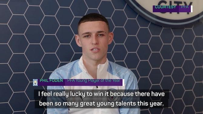 Preview image for Foden keen to take PFA accolade praise into Euro 2020 tournament
