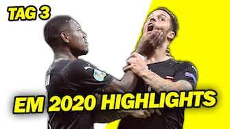 Vorschaubild für UEFA EURO 2020 Tag 3 - Bellingham jünsger EM-Teilnehmer! Alaba & Co gewinnen EM-Auftakt & Niederlange holt sich knappen Sieg