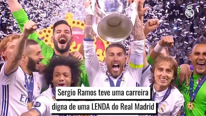 Sergio Ramos, uma lenda do Real Madrid