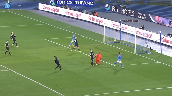 All 2020-21 Elmas' goals with Napoli