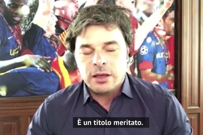 "Sforza: ""Conte ha vinto con le sue idee"""