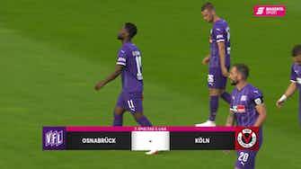 Vorschaubild für VfL Osnabrück - FC Viktoria Köln (Highlights)