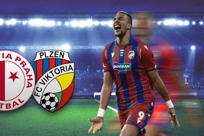 6 Tore bei Machtdemonstration von Meister Slavia | Slavia Prag - Viktoria Pilsen