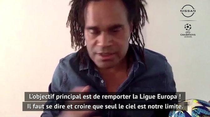 "Exclusif - Karembeu : ""Notre objectif est de remporter la Ligue Europa"""