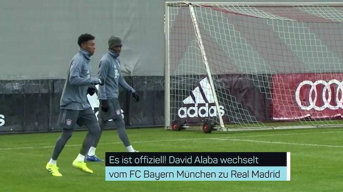Vorschaubild für Offiziell! Alaba wechselt zu Real Madrid
