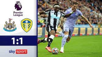 Vorschaubild für Unentschieden in Newcastle! Highlights: Newcastle - Leeds United 1:1