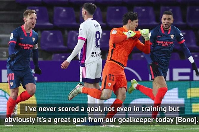 'I never scored, even in training!' - Lopetegui on Sevilla keeper's equaliser