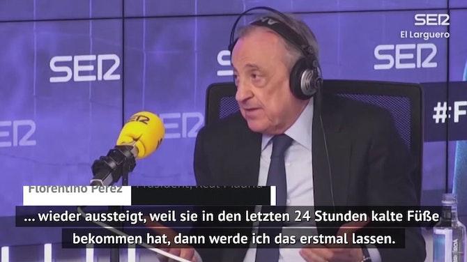 "Perez: ""Super League ist im Standby-Modus"""