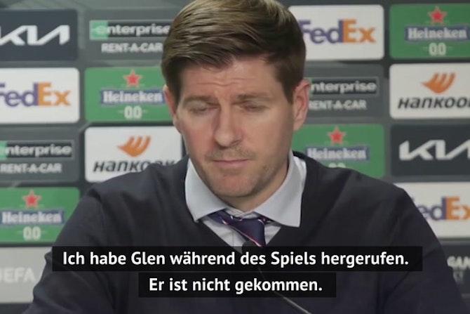 "Rassismus-Eklat! Gerrard: ""Stehe zu Kamara"""