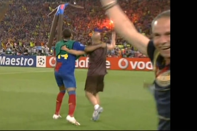 Pep Guardiola gana la Champions League 2008/09 con el FC Barcelona