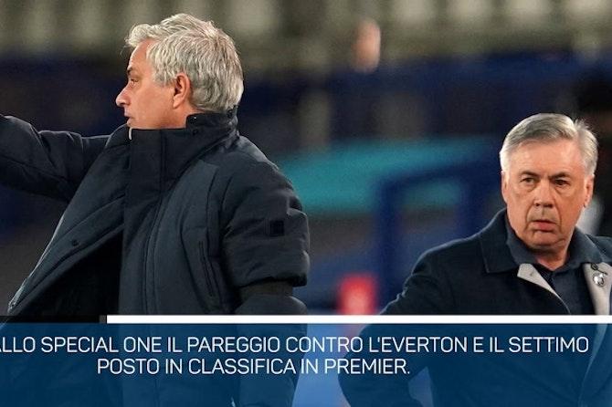 Il Tottenham esonera Mourinho