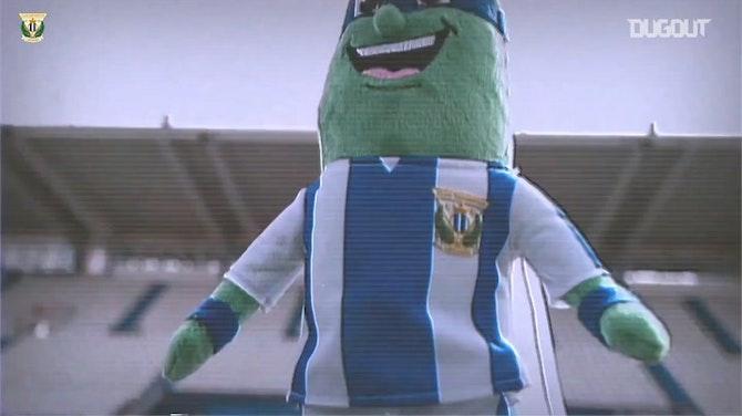 CD Leganés launch 'Super Cucumber' toy