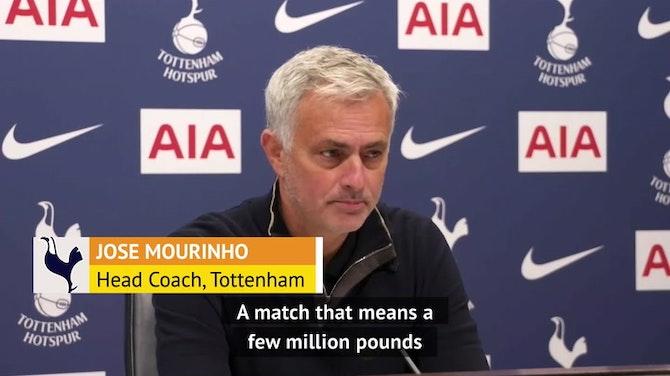 Mourinho fires another warning shot at Southgate over Kane