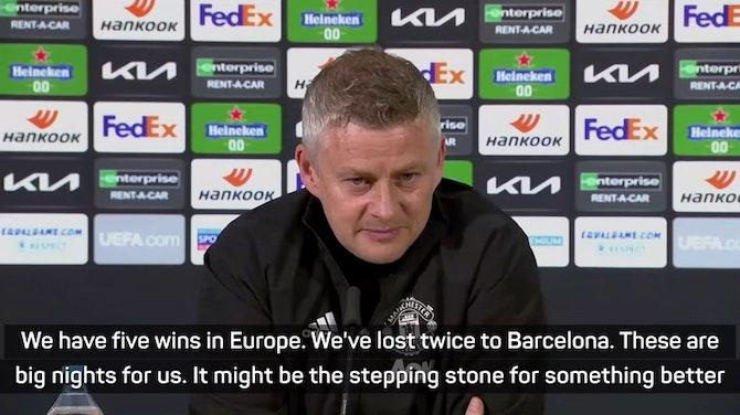 Solskjaer eager for 'stepping stone' Europa League win