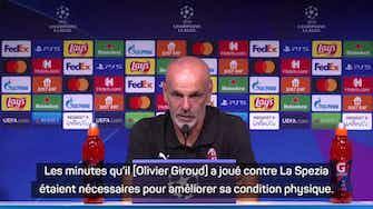 Image d'aperçu pour  Milan - Pioli croit en Giroud