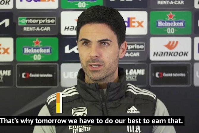Arteta and Leno insist Arsenal belong in Europe ahead of UEL decider