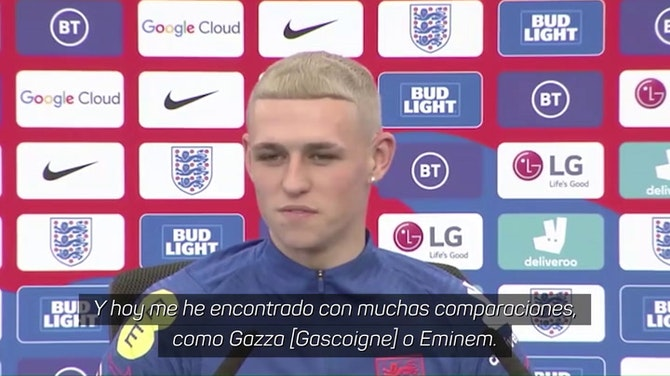 "Foden se tiñe a lo Gascoigne: ""Fue un jugador increíble"""