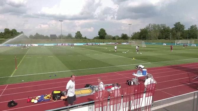 Vor EM-Start: DFB-Team holt sich letzten Feinschliff