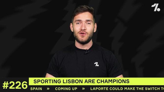Sporting Lisbon are CHAMPIONS!