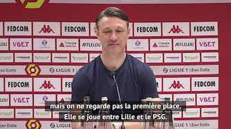 """Image d'aperçu pour 38e j. - Kovac : """"Il faudrait un gros, gros miracle pour être champion"""""""