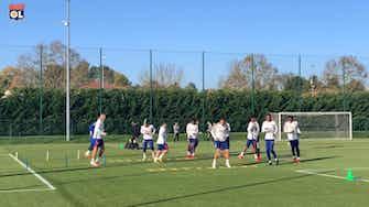 Vorschaubild für Olympique Lyonnais preparations ahead of Lens clash