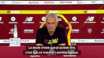 "Image d'aperçu pour Roma - Mourinho : ""Le transfert de Cristiano est logique"""