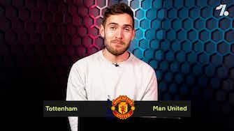 Preview image for PREDICTING Tottenham vs Man United!