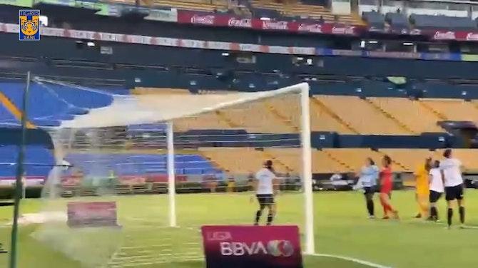 Imagen de vista previa para El primer gol de Jana Gutiérrez con Tigres