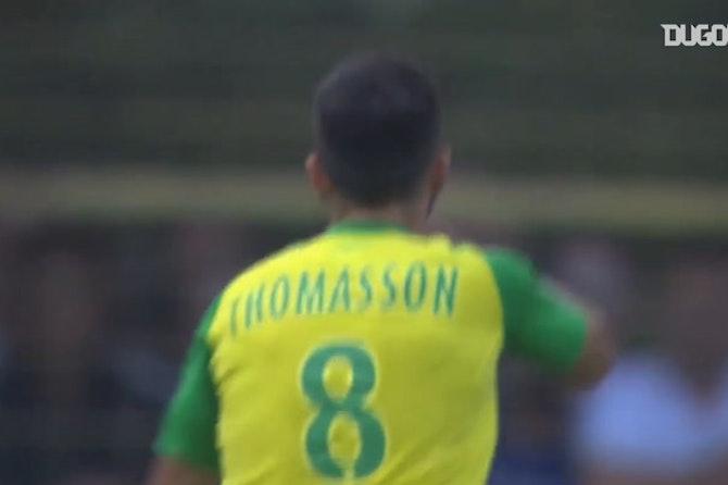 Adrien Thomasson's great finish vs Strasbourg