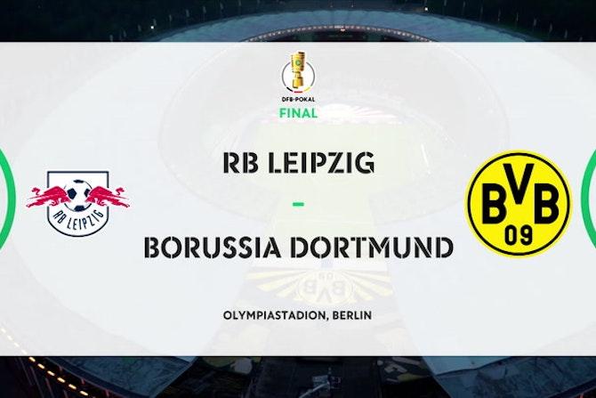 DFB Pokal final highlights: RB Leipzig 1-4 Borussia Dortmund