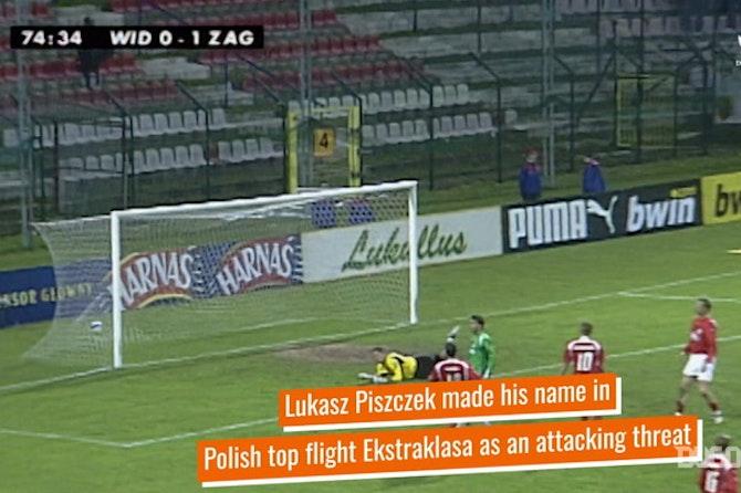 Lukasz Piszczek's attacking days in the Ekstraklasa