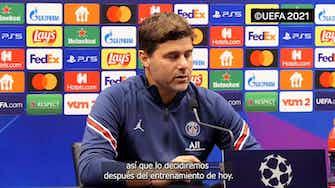 "Imagen de vista previa para Pochettino: ""Me sumaré al entusiasmo colectivo de ver a Messi, Neymar y Mbappé"""