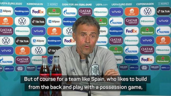 Preview image for Midfield battle may decide clash against Croatia - Enrique
