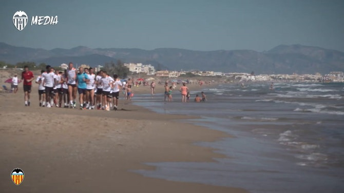 Preview image for Valencia's Mediterranean pre-season training camp