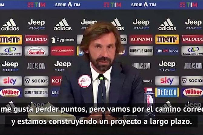 "Pirlo: ""No me preocupa enfrentarme al Barcelona"""