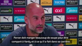 "Image d'aperçu pour 4e j. - Guardiola : ""Je suis un grand fan de Jamie Vardy"""