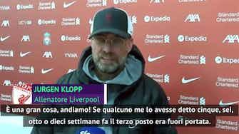 """Anteprima immagine per Klopp e la gioia da Champions: """"Non sembrava possibile"""""""