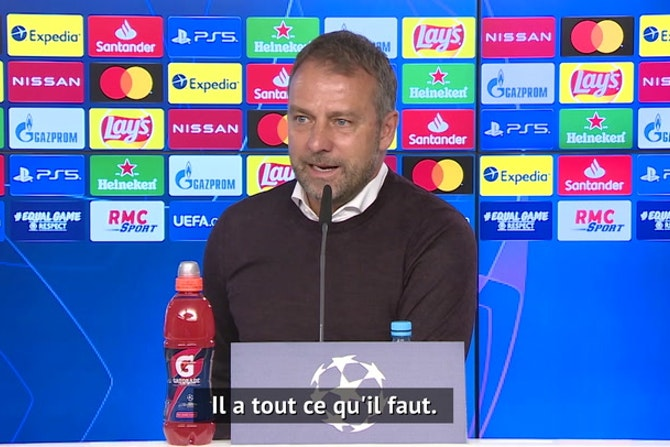 "Quarts - Flick : ""Mbappé sera Ballon d'or un jour"""